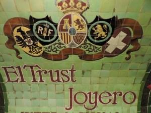 Estación Fantasma de Chamberí - El Trust Joyeros