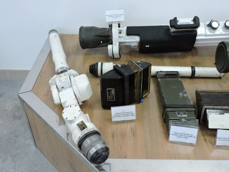 Museo de Carros de Combate - Telémetro del M-47