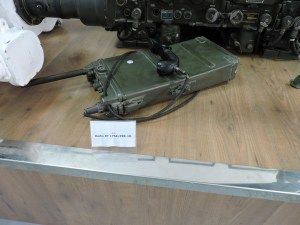 Museo de Carros de Combate - Radio transmisor