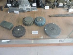 Museo de Carros de Combate - Minas anticarro