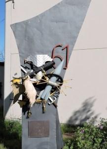 Museo de Carros de Combate - Homenaje del RIAC-61 a sus especialistas