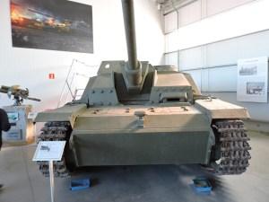 Museo de Carros de Combate - SturmGeschütz III, conocido como STUG III