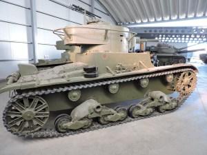 Museo de Carros de Combate - Suspensión Vickers