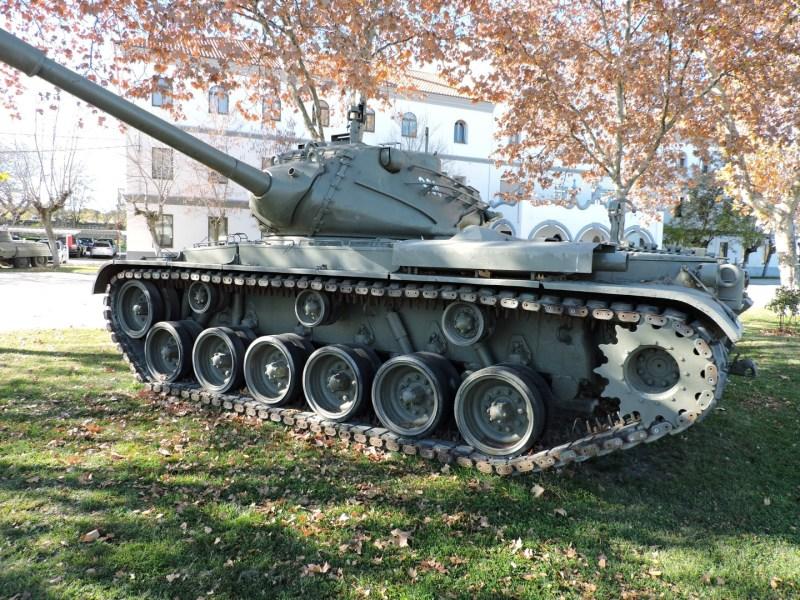 Museo de Carros de Combate - Carro M47 Patton