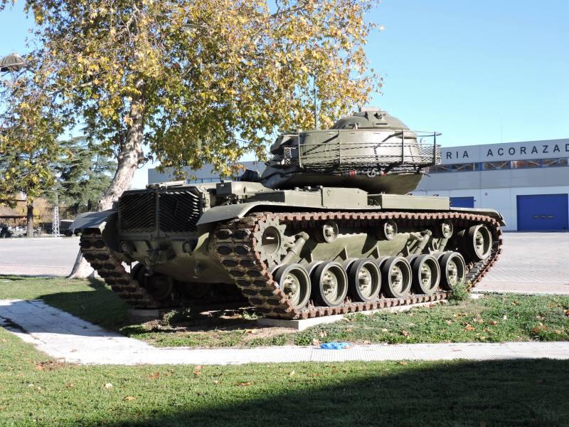 Museo de Carros de Combate - Vista posterior del M-60 A3 TTS