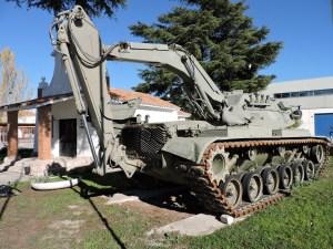 Museo de Carros de Combate - Está claro por qué lo llamaron Alacrán