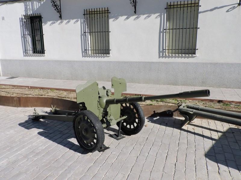 Museo de Carros de Combate - Cañón contracarro