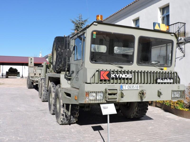 Museo de Carros de Combate - Kynos Aljaba, diseñado y fabricado en España