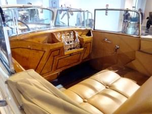 Museo Automovilístico - Interior del Packard