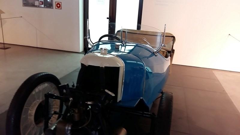 Museo Automovilístico - Morgan 3-ruedas (Reino Unido - 1928)