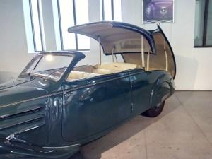 Museo Automovilístico - Sistema Eclipse del Peugeot 402