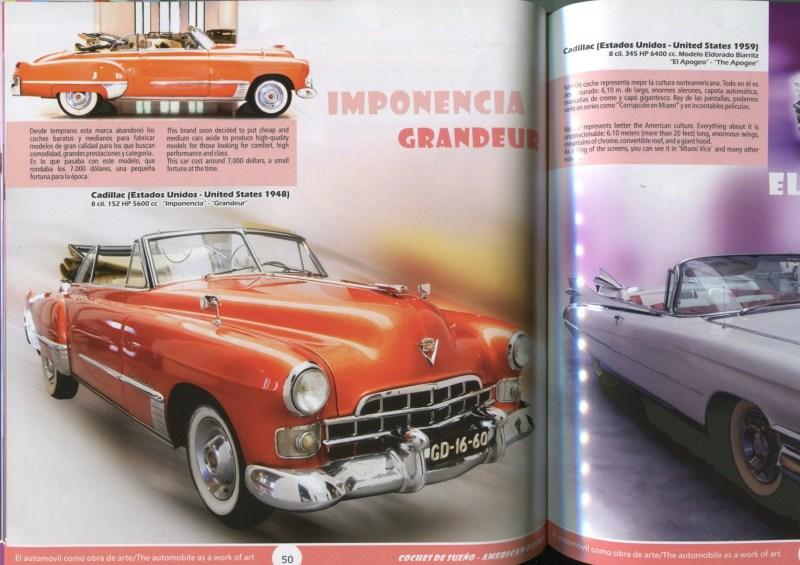 Museo Automovilístico - Interior del catálogo