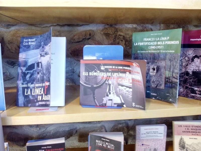 Parque de los búnkeres - Librería en la tienda