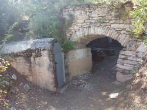 Parque de los búnkeres - Entrada al búnker El Cabiscol
