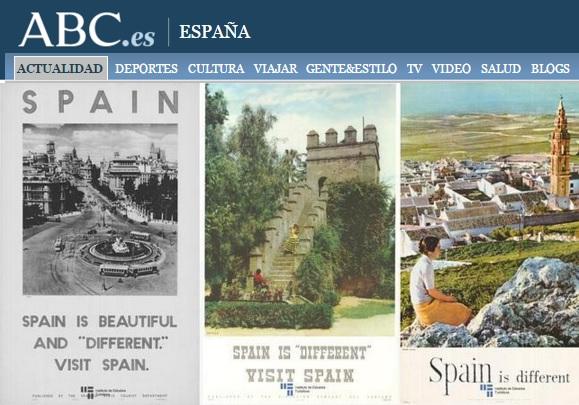 """Museo de la Aviación - Carteles con el lema """"Spain is different"""" (1)"""