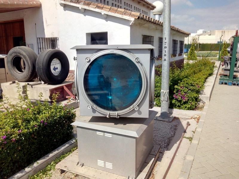 Museo de la Aviación - Reflector de señales