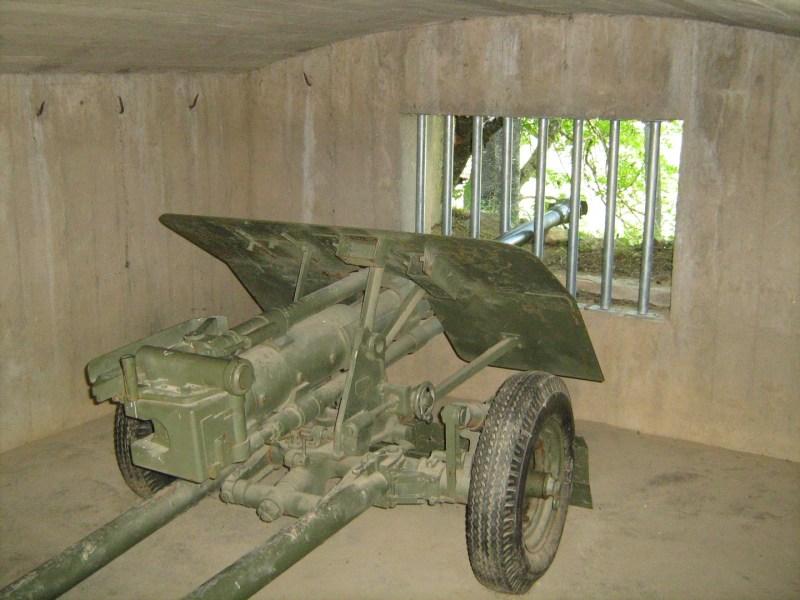 Parque de los búnkeres - Pieza de artillería
