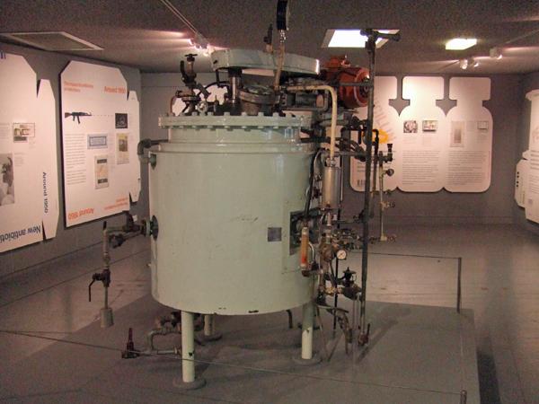 Fleming - Tanque de fermentación, utilizado para producir masivamente el Penicillium (5)