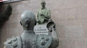 Fleming - Torero brindando al doctor Fleming