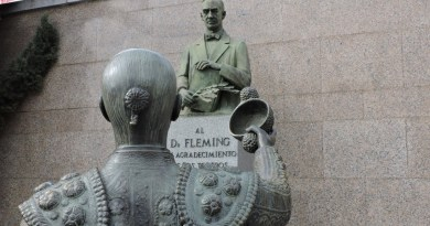 Fleming - Torero brindando al doctor Fleming