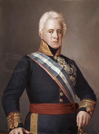 Museo de la Guardia Civil - Pedro Agustín Girón, I Duque de Ahumada (4). Como dato curioso, los Duques de Ahumada son descendientes directos del Emperador de México, Moctezuma.