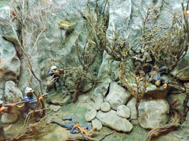 Museo de la Guardia Civil - Muerte de El Pernales y El Niño de El Arahal en un enfrentamiento con la Guardia Civil (Imagen propiedad del Museo de la Guardia Civil)