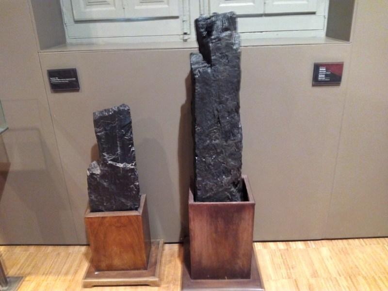 Museo Minas Serchs - Barras de lignito