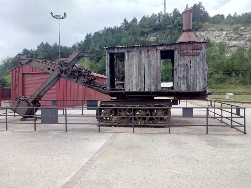 Museo Minas Serchs - Pala de cables con estructura de madera
