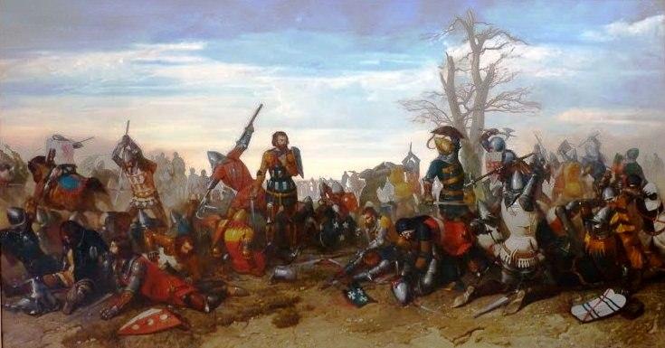 Museo Farmacia Militar - El combate de los treinta - Octave Penguilly L'Haridon - Musée des beaux-arts de Quimper (1)
