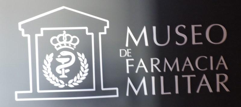 Museo Farmacia Militar - Logotipo del Museo de la Farmacia Militar