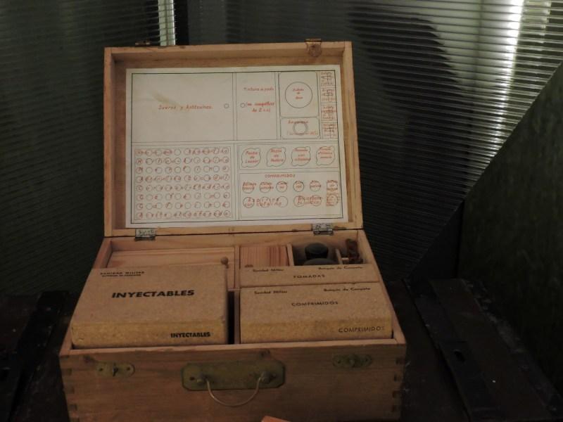 Museo Farmacia Militar - Botiquín de campaña