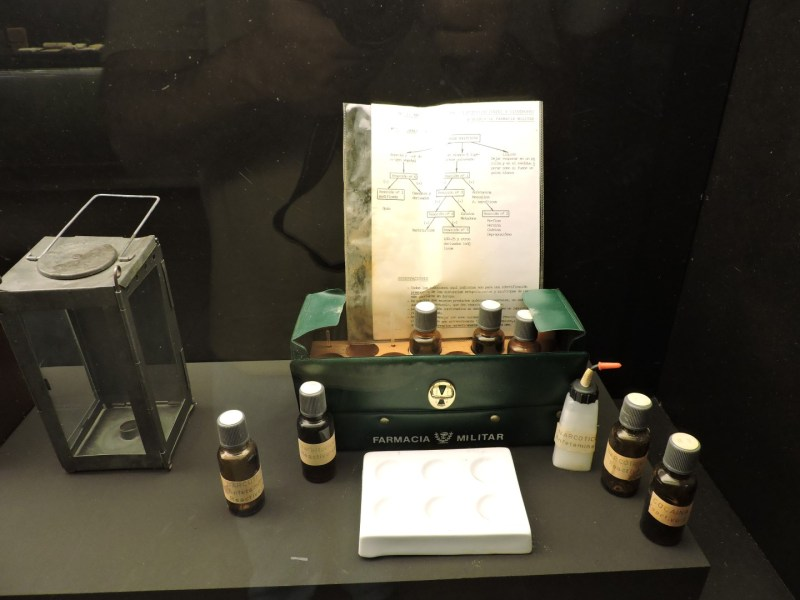 Museo Farmacia Militar - Equipo de análisis de estupefacientes portátil