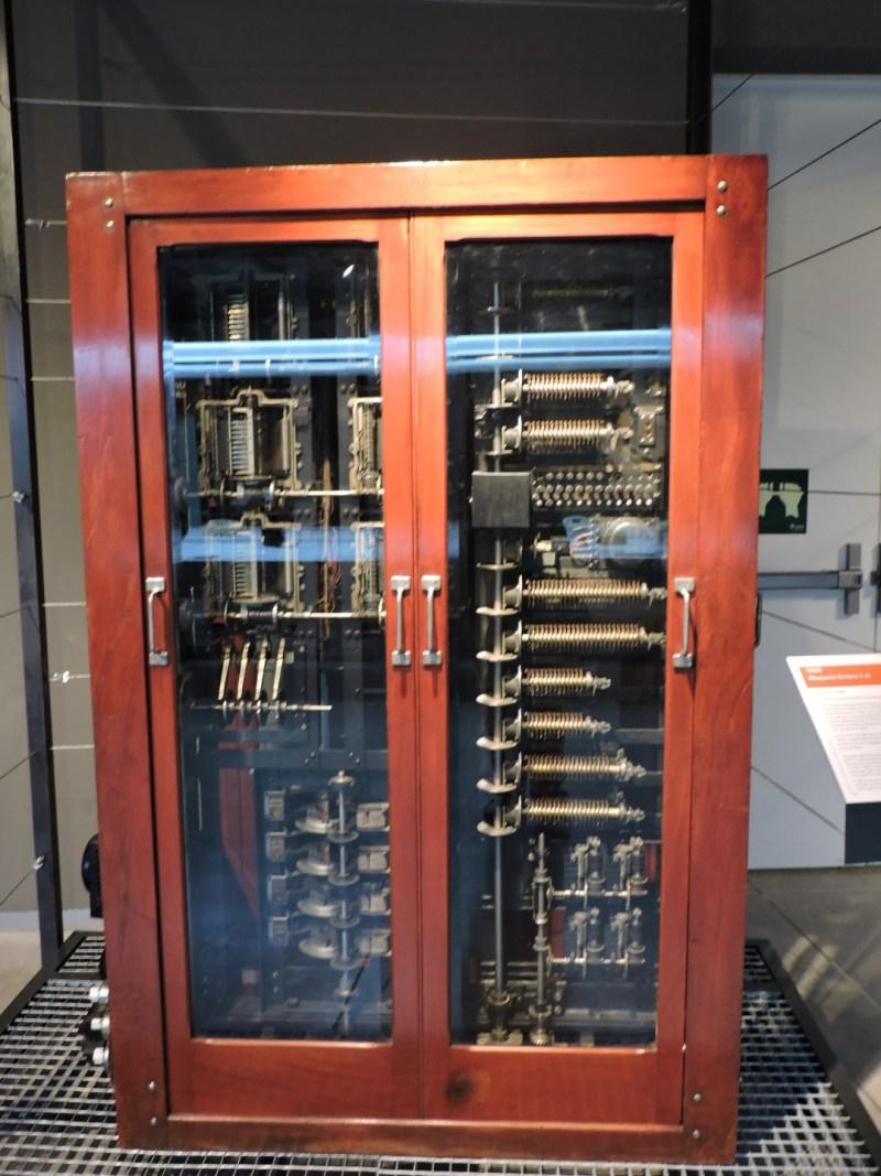 Museo de las Telecomunicaciones - Maqueta de la central Rotary 7-A, fabricada por ITT y expuesta en el Palacio de Hielo de Madrid en 1925