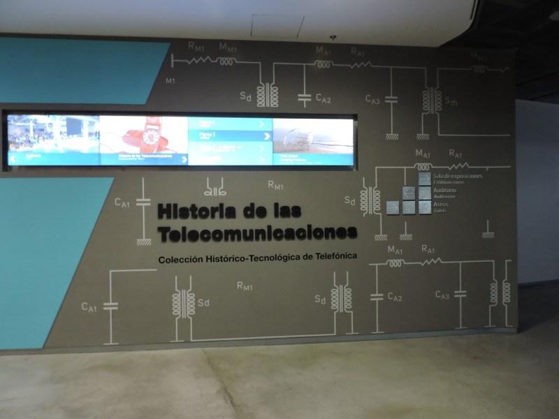 Museo de las Telecomunicaciones - Entrada al Museo de las Telecomunicaciones
