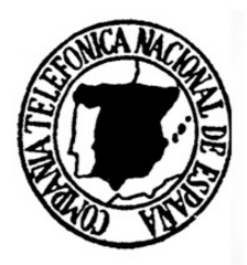 Museo de las Telecomunicaciones - La CTNE obtuvo el monopolio de la comunicación telefónica para toda España.