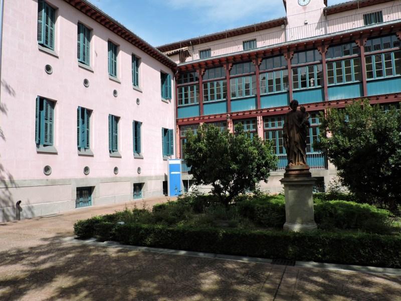 Museo de la Homeopatía - Lateral izquierdo del Hospital.