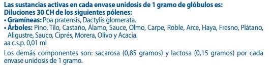 """Museo de la Homeopatía - Composición de un """"medicamento"""" para la alergia con 30 CH (30 disoluciones centesimales de Hahnemann)"""