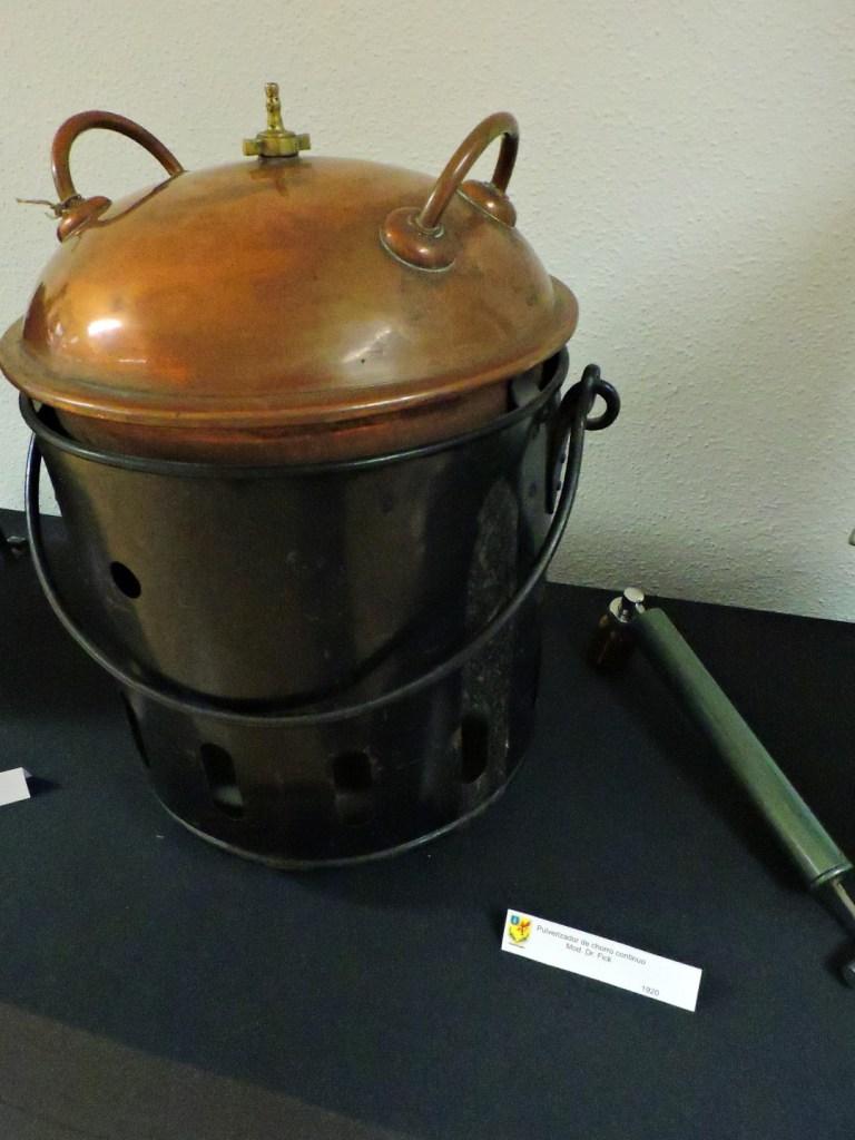 Museo Veterinaria Militar - Pulverizador de insecticida.