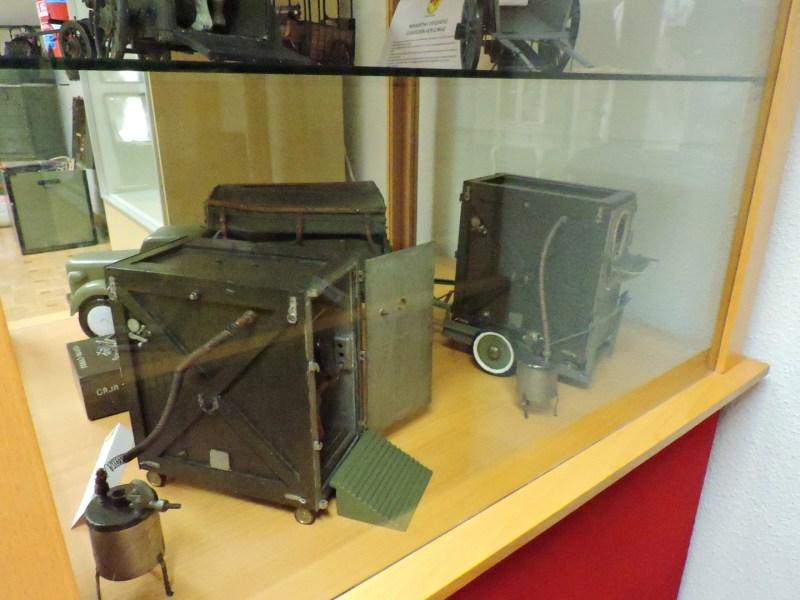Museo Veterinaria Militar - Cámara de sulfuración.