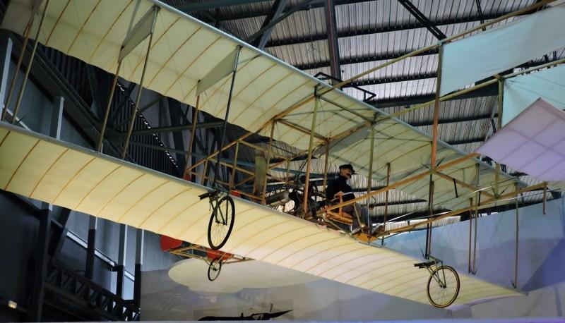 El Vuelo de Juan Olivert - Réplica del avión de Juan Olivert en el Museo del Aire de Madrid.