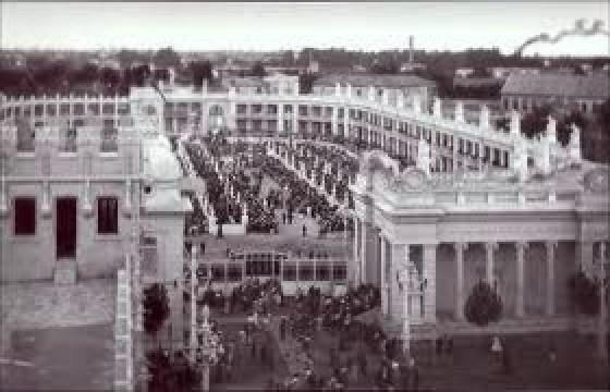El Vuelo de Juan Olivert - Vista aérea de la Exposición Regional de Valencia de 1909 (9).