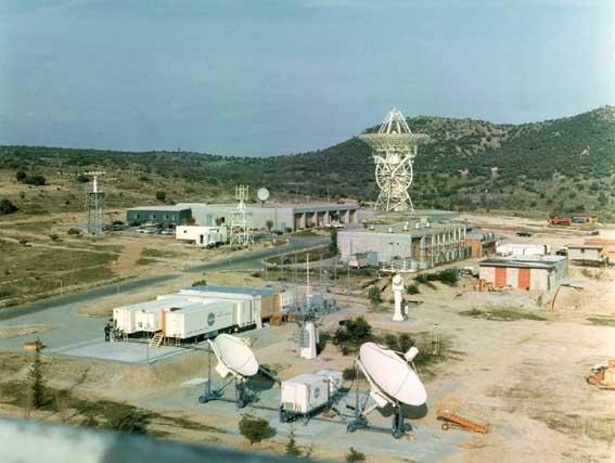 Deep Space Network - Red del Espacio Profundo - Madrid - Estación de seguimiento de Fresnedillas, perteneciente a la red MSFN e inaugurada para el seguimiento del programa Apolo (21).