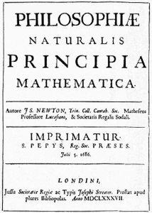 """Deep Space Network - Red del Espacio Profundo - Madrid - """"Principios Matemáticos de la Filosofía Natural"""", de Isaac Newton (1)."""