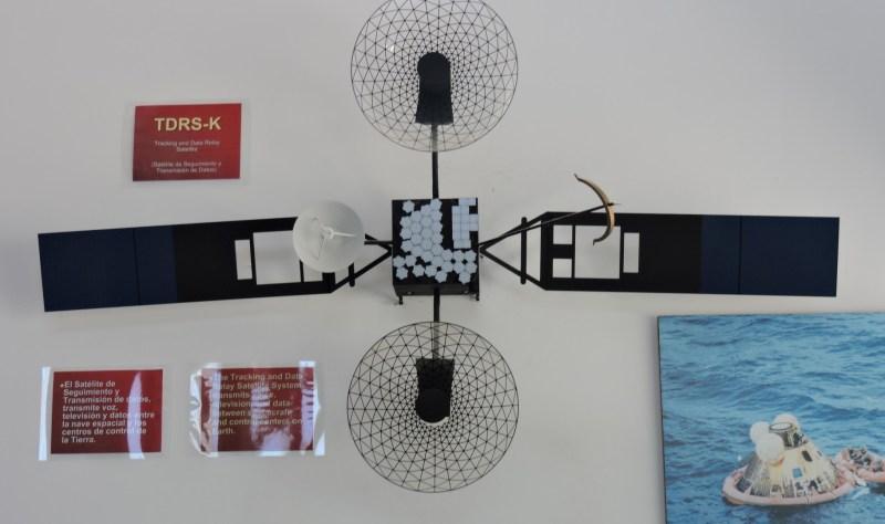 Deep Space Network - Red del Espacio Profundo - Madrid - Satélite TDRS, destinados a sustituir las estaciones de seguimiento para vuelos orbitales y durante la inserción en órbita.