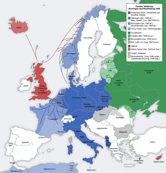 Museo División Azul - En 1940, Hitler había conquistado toda la Europa Central (2).
