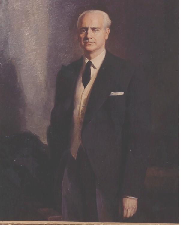 Museo División Azul - Serrano Suñer, germanófilo convencido, trató que España se orientase hacia la Alemania nazi. También fue uno de los ministros más prolíficos, creando la Once, la Agencia Efe, Radio Intercontinental, el Fuero de los Trabajadores, etc (7).