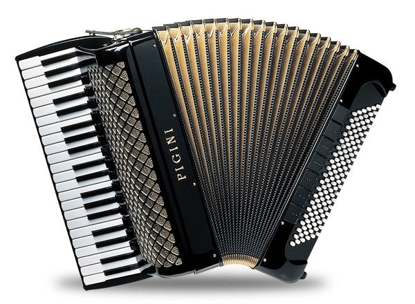 Museo del Acordeón - El acordeón cromático dispone de un teclado similar al del piano (8).
