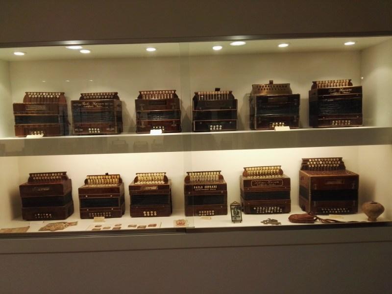 Museo del Acordeón - Acordeones Paolo Soprani, que lleva fabricando acordeones desde hace 150 años.