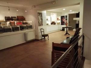 Museo del Acordeón - Una de las salas del Museo del Acordeón.