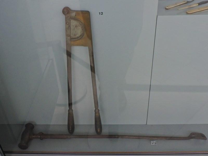 Museo Veterinario Complutense - Cortacolas de caballos.